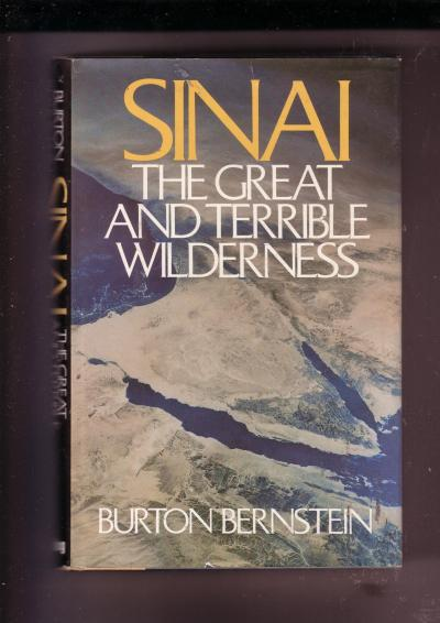 Sinai, the Great and Terrible Wilderness