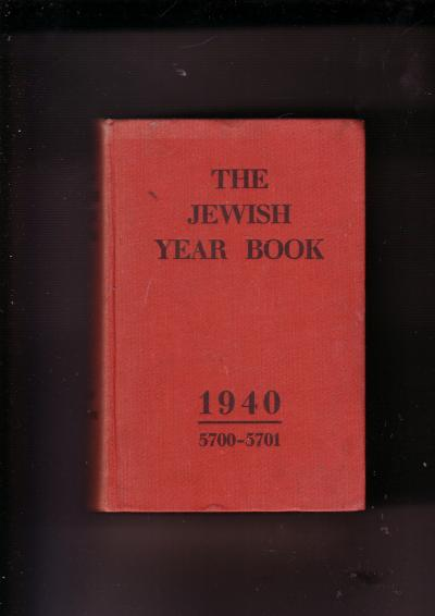 The Jewish Year Book 5700-1
