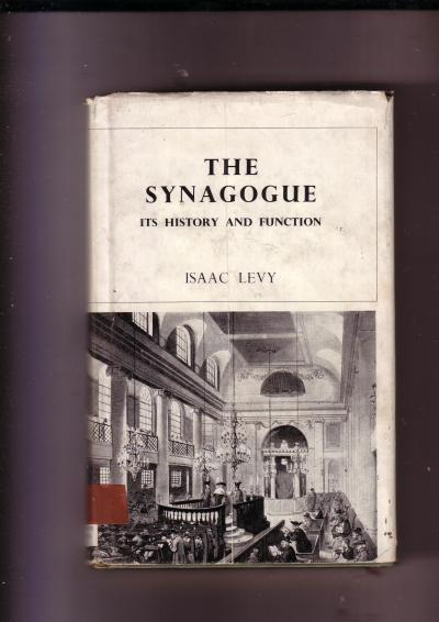 The Synagogue, its History and Function