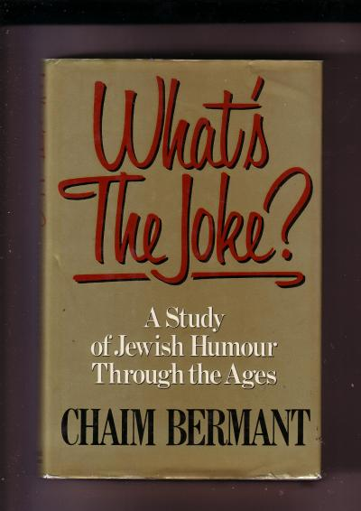 What's the Joke? A Study of Jewish Humour Through the Ages