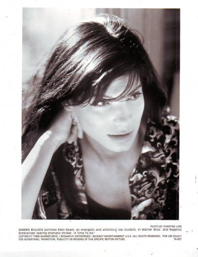 sandra bullock photo by christine loss in a time to kill