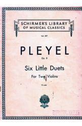 Six little Duets for two Violins Ignace Pleyel