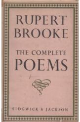 The Complete Poems Rupert Brooke English Prose