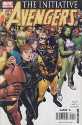 Marvel Comics Avengers The Initiative 1 קומיקס