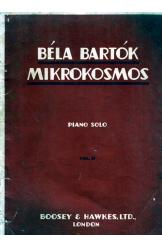 Piano Solo Notes Bela Bartok Mikrokosmos