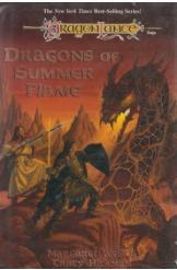 Dragons of Summer Flame Margaret Weis Tracy Hickman Sci Fi