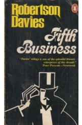 Fifth Business Robertson Davies English Prose