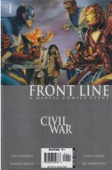 Marvel Comics Civil War 1 Frontline