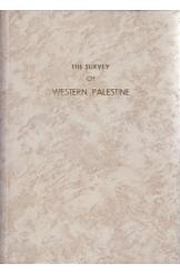 The Survey of Western Palestine 6 Volumes Conder Kitchene