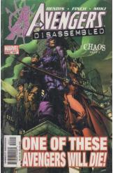 Marvel Comics The Avengers Disassembled Chaos Part III November 2004