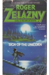 תמונה של - Sign of the Unicorn Roger Zelazny Sci Fi