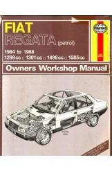 תמונה של - Fiat Regata (petrol) Owners Workshop Manual 1984 to 1988 פיאט רגאטה פטרו