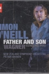תמונה של - emi classic simon oneill father and wagner new ziland symphony