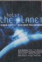 תמונה של - EMI Classics The Planets Simon Rattle Berlin Philharmonic 2 discs